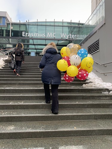 Heliumballonnen Erasmus MC Sophia Kinderziekenhuis Rotterdam