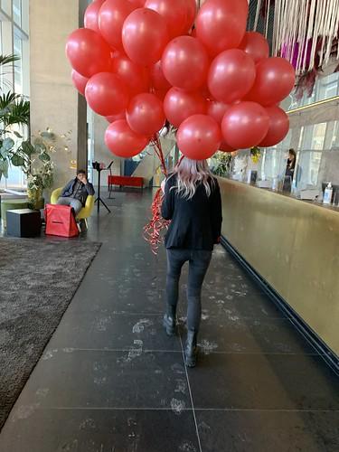 Heliumballonnen NHOW Hotel Rotterdam
