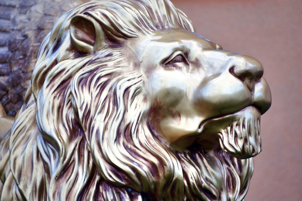 A Fake Lion