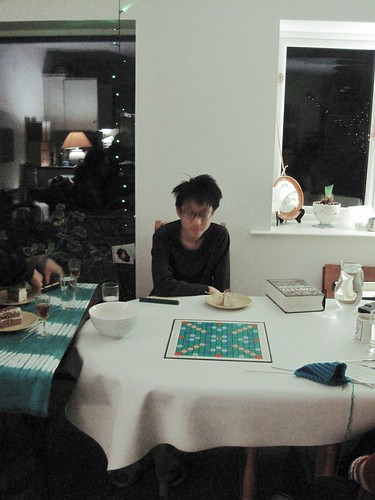 Vincent playing Scrabble, Feb. 2021 2