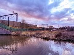 Whittington canal, England