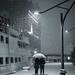Letzter Schnee in Hamburg