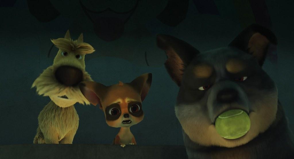《小狼人》(左起)西傅、ㄟ辣姊、胖球