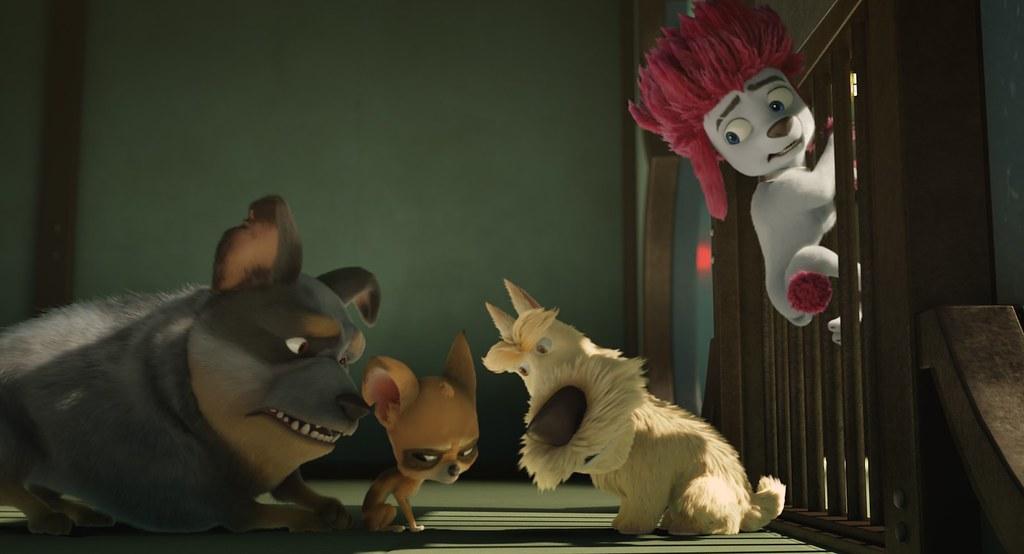 《小狼人》(左起)胖球、ㄟ辣姊、西傅、福來弟