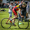 Cycling in Balloch - Frank Morris