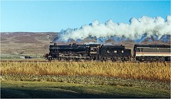 Photo of 5407. Approaching Ais Gill 1989.