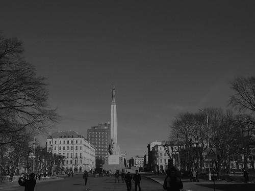 RigaThe Freedom MonumentLatvia