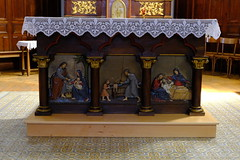 Église Saint-Jean-Baptiste @ Saint-Jean-de-Sixt