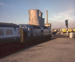 Photo of 55010 heading north from Darlington, March 1978,