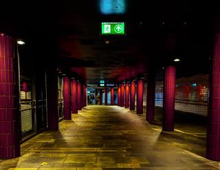 Exit of Nationalteatret station