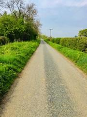 Photo of Amblers Lane in Shipton, England.
