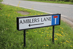 Photo of Amblers Lane in Shipton