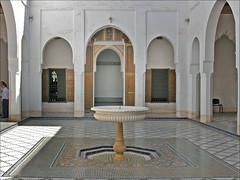 Le palais de la Bahia (Marrakech, Maroc)