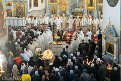 20/02/2021 - На 40-й день по кончине митрополита Филарета в Жировичском монастыре состоялись заупокойные богослужения