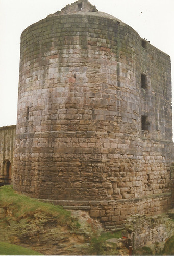 Ravenscraig Castle, Kirkcaldy, Fife c.1990.