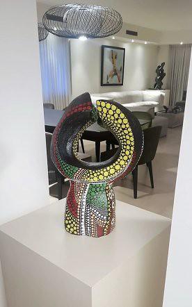פסלים מופשטים פיסול מופשט פסל מודרני רחל פרנק rachel frank  היוצרת המודרנית הישראלית העכשווית