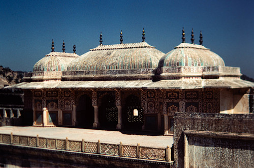 Fort Amber, India, 1984