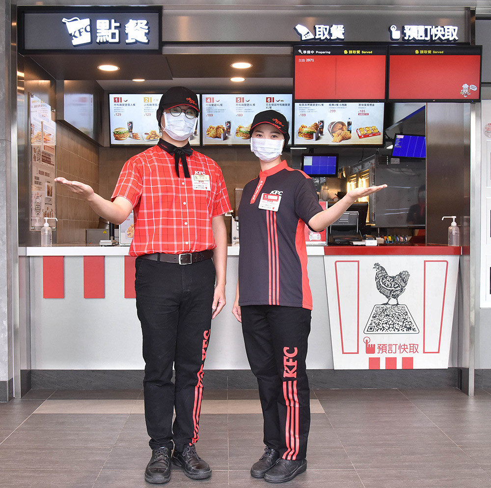 (圖十四)KFC邀請知名設計師-Daniel-Wong-打造肯德基全新制服