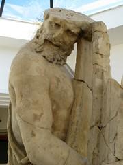 Museo Arqueólogico de Sperlonga_Grupo de Escila_Detalle3_Ulises_Odisea