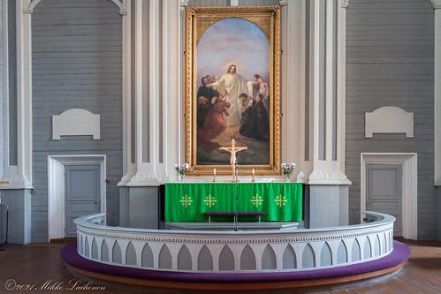 Kerimäen kirkon alttari