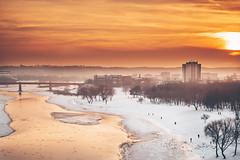 Warm evening | Kaunas aerial #52/365