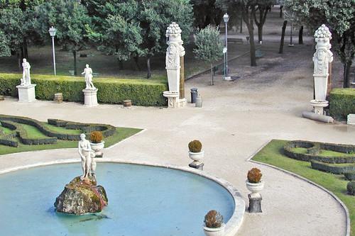 Jardin de la villa Borghèse (Rome)