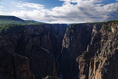 It's Early Morning at the Black Canyon (Black Canyon of the Gunnison National Park)