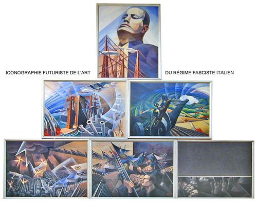 Tableaux futuristes de Gerardo Dottori (GNAM, Rome)