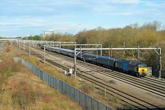 Photo of 5Q86 Wolverton Works - Bournemouth T&RSMD | Knowhill Jcn, Milton Keynes | 57312 + 442403. 23/02/2021