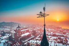 Weathervane   Kaunas aerial #53/365