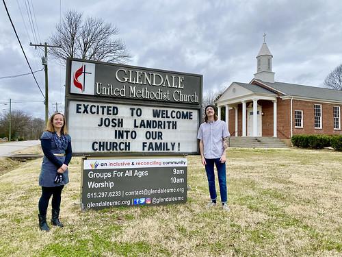 Joshua David Landrith Joins Glendale United Methodist Church