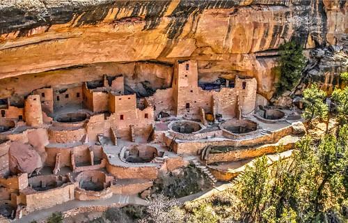 Cliff Palace Mesa Verde, Colorado