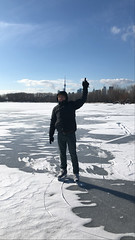 Skating in the Outer Harbour