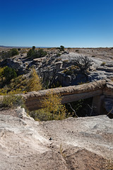 Agate Bridge in Petrified Forest National Park