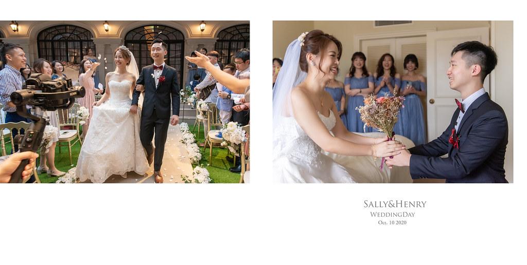 婚攝|翡麗詩莊園|Sally&Henry(相本)