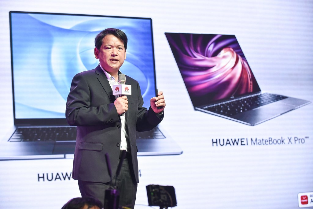 【HUAWEI】HUAWEI MateBook 14 新品上市記者會_燦坤商品部總經理 李經緯
