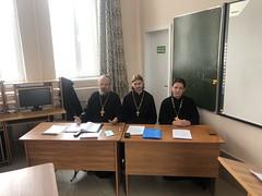 25 февраля 2021, В семинарии прошла студенческая конференция «Актуальные проблемы богословия»