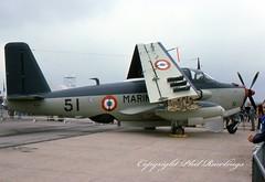 Photo of 51 1960 Breguet 1050 Alize French Navy International Air Tattoo RAF Greenham Common 07.77
