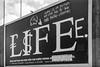 Subverted Billboard, Bedford Rd, Clapham, Lambeth, 1989 89-6a-14