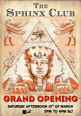 Sphinx Club Official Opening