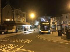 Photo of Stagecoach South West 15324 and 15896 in Teignmouth this evening.