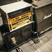 Marshall rack on stage closeup.