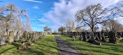Photo of 23rd February 2021. Stretford Cemetery, Manchester