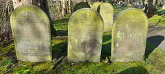 Photo of 23rd February 2021. Paupers' Graves in Stretford Cemetery, Manchester
