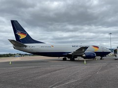 Photo of G-JMCU, Boeing 737  301SF, West Atlantic Cargo Airlines (23513), Exeter 11th September 2020