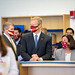 "Governor Baker visits Nock Middle School in Newburyport to highlight COVID-19 pool testing • <a style=""font-size:0.8em;"" href=""http://www.flickr.com/photos/28232089@N04/50983099962/"" target=""_blank"">View on Flickr</a>"