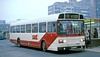 Sheffield United Tours: 29 (NHA266M) in Sheffield Bus Station