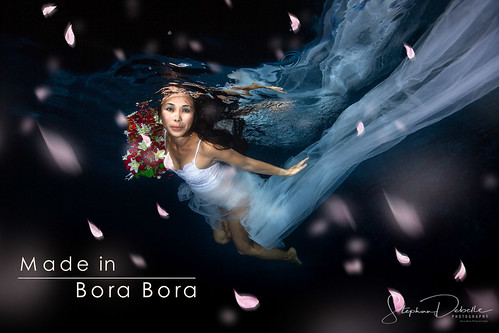 Bonnie - Aquatic Photoshoot Bora Bora