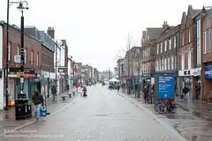 Photo of Newbury in lockdown on a gloomy wet winter weekend.  20210130 - Rugeley - 119