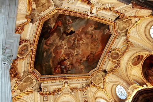 Bóveda de la caja de la escalera principal del Palacio Real de Madrid